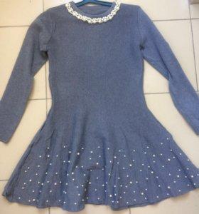 Платье с бусинками