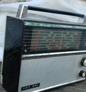 Ретро радиоприемник ВЭФ 201(VEF 201)