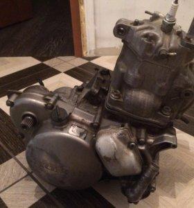 Двигатель honda crm 250