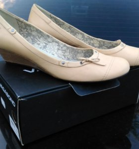 Туфли женские, кожа, 42 размер