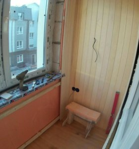 Вагонка на балкон