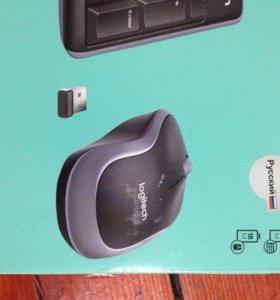 Беспроводная клавиатура + мышь новые