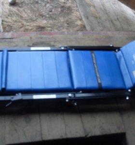 лежак трансформер для автосервиса.