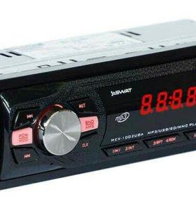 Автомагнитола MP3, радио, AUX Swat MEX-1002UBA