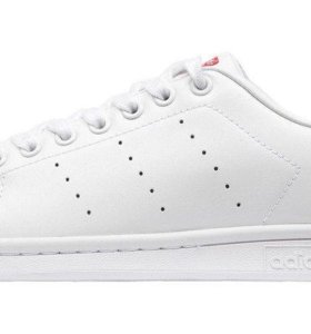 Кроссовки Adidas Stan Smith White collegiate Red
