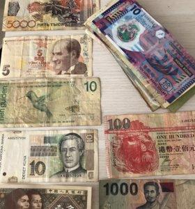 Большая коллекция валют из разных стран мира!