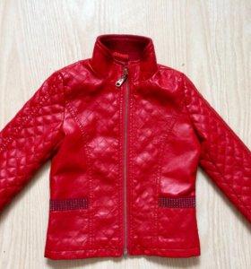Кожаная куртка р.98