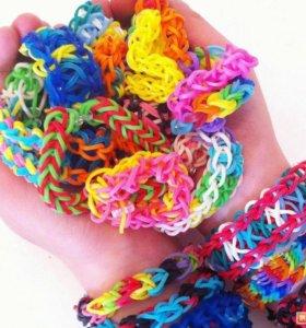 Набор резиночек д/плетения в футляре
