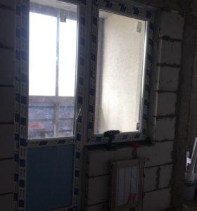 Окно и балконная дверь
