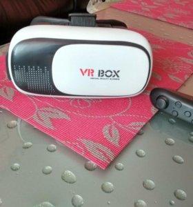 Очки виртуальной реальности VR Box VR 2.0с пультом