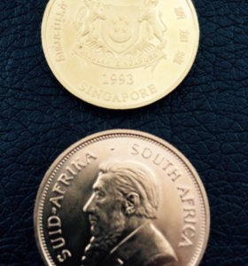 Монета унцовая золотая