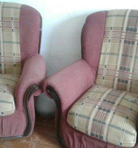 Продам диван и два кресло бу, в хорошем состоянии