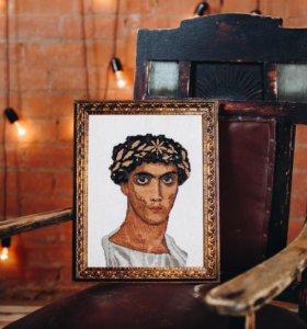 """Картина """"Египетский юноша"""" (ручная работа)"""