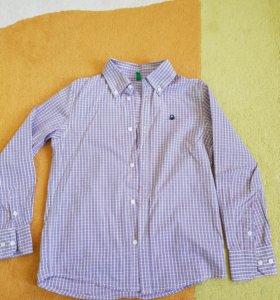 Рубашка на мальчика рост 146