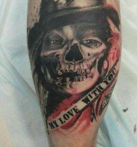 Татуировка в Новосибирске качественно