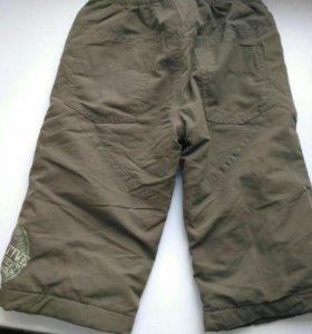 Продам утепленные штаны р 80