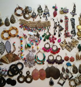 Индийские сережки