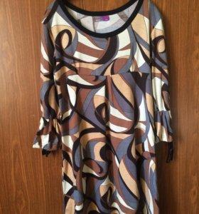 Платье-туника для беременных.