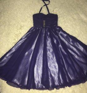 Шикарное платье для девочки рост 130-140-150 см