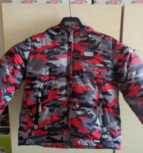 Зимняя куртка для мальчика размер 104