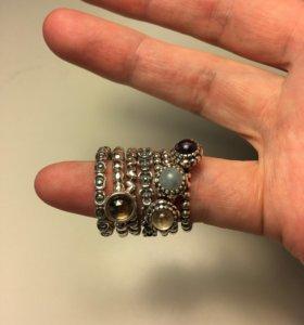 Новые кольца Pandora