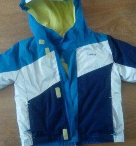 Костюм зимний куртка и брюки размер 83-90