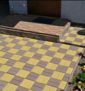 Укладка тротуарной плитки профессионально
