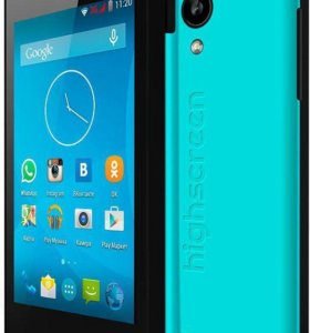 "HighscreeN PurE 3.5""/ 3G/ 2sim/ 2cores/ GPS/Bt/cam"