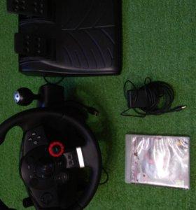 Игровой руль оригинал - Logitech Driving Force GT