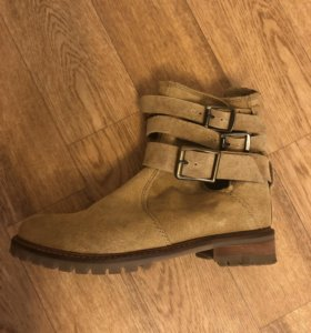 Ботинки из натуральной кожи Pull&Bear