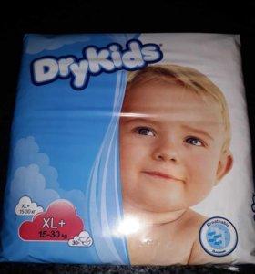 Гипоаллергенные подгузники Dry Kids 15-30кг