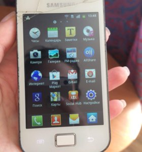Samsung Galaxy Ace La Fleur White GT-S5830i