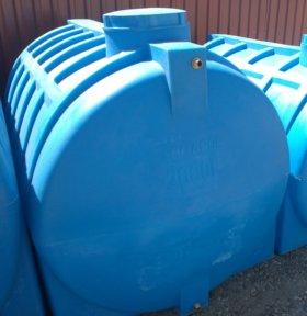 Емкость горизонтальная 2000 литров