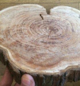 Спил дерева облепиха