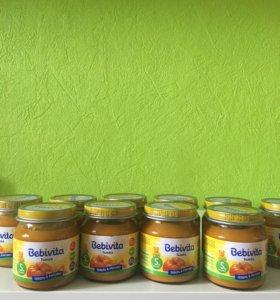 Овощное пюре bebivita тыква