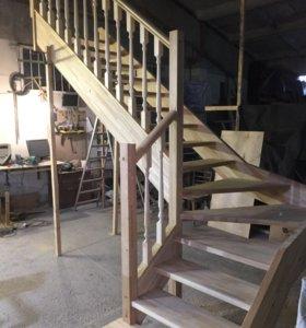 Деревянные лестницы. Производство