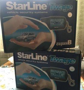 Сигнализация StarLine B9 новая!