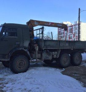 КАМАЗ-САЙГАК-МАНИПУЛЯТОР