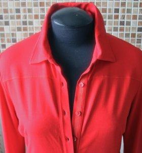 Фирменная рубашка Apriori красная
