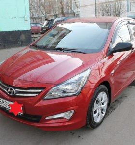 Hyundai Solaris, I Рестайлинг 1.6 AT (123 л.с.)