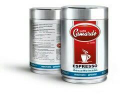 Кофе Сamardo Decaffeinato 250гр