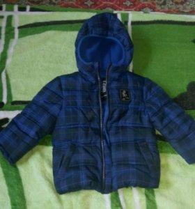 Куртка и жилетка для мальчика