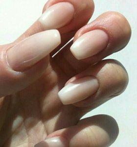 Наращивание ногтей/Покрытие Гель-лаком