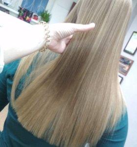 Ботокс для волос. Кератиновое выпрямление волос