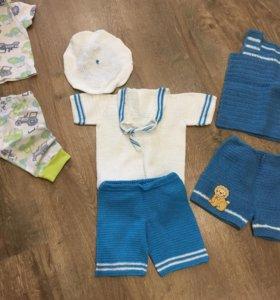 Одежда вещи на мальчика 68-74 размер