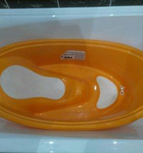 Ванна для купания с горкой.