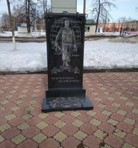 Памятники из гранита и мрамора.