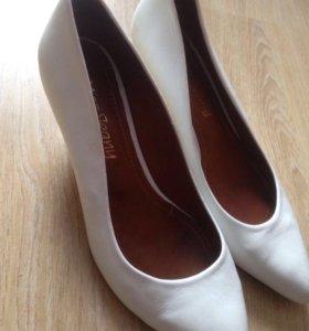 Туфли натур/кожа