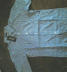 Рубашка мужская с короткими рукавами