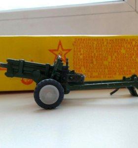 Дивизионные ЗИС модели пушек 1984г